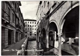 TREVISO - VIE ZORZETTO E SOTTOPORTICO FIUMICELLI - 1961 - Treviso