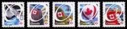 Canada (Scott No.2419-23 - Fierté Canadienne / Canadian Pride) (o) De Carnet / From Booklet - 1952-.... Regering Van Elizabeth II