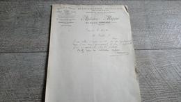 Facture Document Massé Quincaillerie Outillage Rue Duquesne Cancale 1924 - France