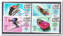Fujeira 1968, Postfris MNH, Olympic Winter Games - Fujeira