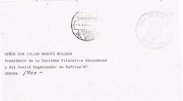 32166. Frontal MADRID 1988. Fechador JEFATURA Del ESTADO, Casa De S.M. El REY Franquicia - 1931-Hoy: 2ª República - ... Juan Carlos I