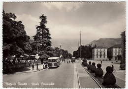 VITTORIO VENETO - VIALE CONCORDIA - TREVISO - 1957 - BUS - PULLMAN - Treviso