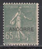 1938 Yvert Nº 16   /*/ - French Andorra