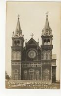 """ST. CELESTIN, Quebec, Canada, Church, """"L'Eglise Paroissiale A La Tour Des Martyrs"""", 1946 RPPC - Quebec"""