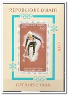 Haiti 1968, Postfris MNH, Olympic Winter Games - Haïti