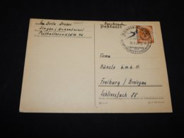 Germany BRD 1953 Singen Special Cancellation Card__(L-26625) - Covers & Documents