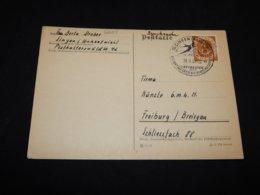 Germany BRD 1953 Singen Special Cancellation Card__(L-26625) - [7] Repubblica Federale
