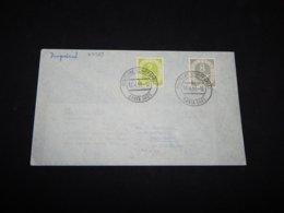 Germany BRD 1953 Santa Ines Schiffspost Cover__(L-27723) - BRD