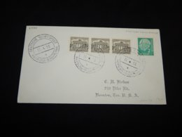 Germany BRD 1955 Hamburg-Sudamerika Schiffspost Cover__(L-27731) - BRD