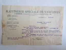 77 Seine Et Marne Courton Raffinerie Spéciale De Vaselines Saint Loup De Naud Par Longueville - France