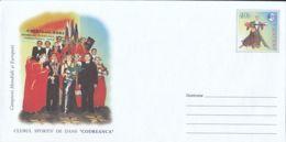 7218FM- CHISINAU- CODREANCA DANCE SPORTS CLUB, COVER STATIONERY, 2003, MOLDOVA - Timbres