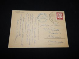 Germany BRD 1963 Frieden An Board Dampfer Cancellation Card__(L-27719) - [7] Repubblica Federale