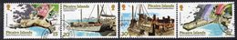 Pitcairn QEII 1978 Harbour Development Project Set Of 4, Used, SG 190/3 - Stamps