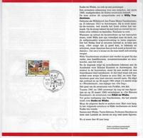 België O.B.C Postfolder 1987    2264    Nr 12  -  1987   Jeugdfilatelie - Entiers Postaux