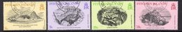 Pitcairn QEII 1979 19th Century Engravings Set Of 4, Used, SG 196/9 - Stamps