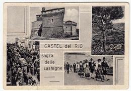 CASTEL DEL RIO - SAGRA DELLE CASTAGNE - BOLOGNA - 1966  - VEDUTE - Bologna