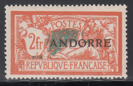 1938 Yvert Nº 19  /*/ - French Andorra