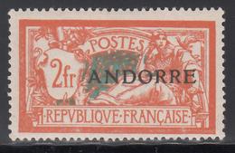 1938 Yvert Nº 19  /*/ - Andorra Francesa