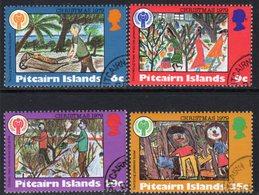 Pitcairn QEII 1979 Christmas Set Of 4, Used, SG 200/3 - Stamps