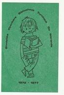 Autocollant Sticker Stedelijke Openbare Bibliotheek Turnhout De Warande 1972-1977 - Autocollants