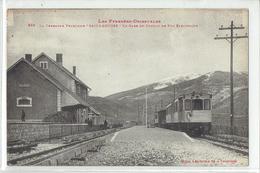 CPA - DPT 66 - SAILLAGOUSE - LA CERDAGNE FRANCAISE - LA GARE DU CHEMIN DE FER ELECTRIQUE  N° 869 - Autres Communes
