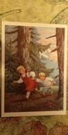 Fairy Tale Gusi Lebedi - OLD PC 1956 -  - Mushroom - Champignon - Contes, Fables & Légendes