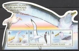 N288 PITCAIRN ISLANDS FAUNA BIRDS ALBATROSS GIANTS OF THE SKY !!! MICHEL 13 EURO !!! 1KB MNH - Oiseaux