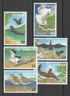 N291 VANUATU FAUNA BIRDS MARINE LIFE #1038-43 1SET MNH - Oiseaux