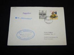 Germany BRD 1982 Helsingborg M.T. Winnetou Paquebot Cover__(L-31050) - Cartas