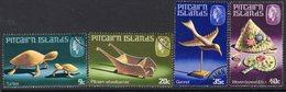 Pitcairn QEII 1980 Handicrafts II Set Of 4, Used, SG 207/10 - Stamps