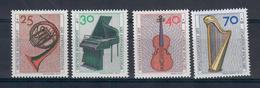 GERMANIA FEDERALE 1973 - STRUMENTI MUSICALI  - SERIE COMPLETA MNH ** - [7] République Fédérale