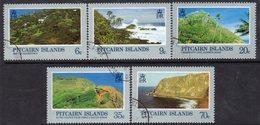 Pitcairn QEII 1981 Landscapes Set Of 5, Used, SG 211/5 - Stamps