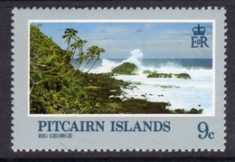 Pitcairn QEII 1981 Landscapes 9c Value, Wmk. Crown To Right Of CA, MNH, SG 212w - Stamps