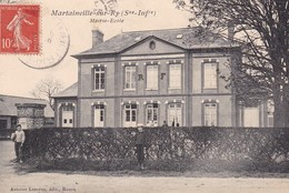 76 /MARTAINVILLE SUR RY / MAIRIE ECOLE / RARE + - Other Municipalities