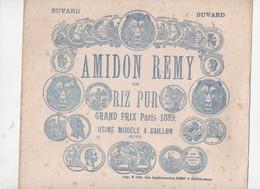 Gaillon (27 Eure)  Buvard (de Grande Taille, Probablement Fin XIXe)  AMIDON REMY  (CAT 1357) - Blotters