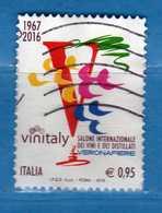 Italia ° -  2016 - VINITALY, CALICE.  VIAGGIATO.  Vedi Descrizione. - 2011-...: Usati