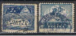 (POL 82) POLSKA // YVERT 193, 195 // 1919 - ....-1919 Gobierno Provisional