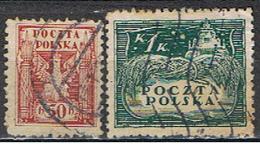 (POL 81) POLSKA // YVERT 190, 191 // 1919 - ....-1919 Gobierno Provisional
