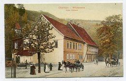 GERMANY - AK 348103 Oberharz - Wildemann - Hotel Rathaus - MODERN REPRODUCTION CARD - Wildemann
