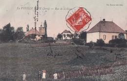 LA VIEILLE LOYE        RUE DE LA  GARE      COLORISEE    + INFO MANUSCRITES - Autres Communes
