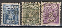 (POL 78) POLSKA // YVERT 163, 164, 165 // 1919 - ....-1919 Provisional Government