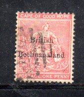 XP5017 - BECHUANALAND 1886  Yvert N. 3  Usato - 1885-1895 Colonia Britannica