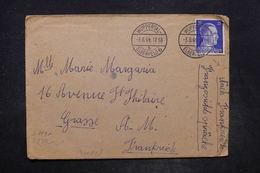 ALLEMAGNE - Enveloppe Du Camp De Java De Wuppertal Pour La France En 1944 Avec Contrôle Postal - L 26697 - Briefe U. Dokumente