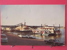 Visuel Très Peu Courant - Etats Unis - Missouri - St Louis Riverfront Riverboats - New And Old - Scans Recto-verso - St Louis – Missouri