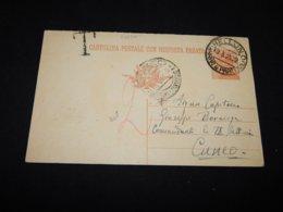 Italy 1925 Belluno Postage Due Station Envelope__(L-26237) - Interi Postali