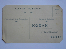Carte Postale KODAK - French