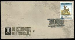 COLOMBIA- KOLUMBIEN- 2013.  FDC/SPD. CHRISTMAS  /  NAVIDAD500 YEARS DISCOVERY PACIFIC OCEAN - Colombia