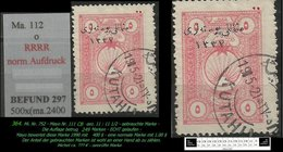 EARLY OTTOMAN SPECIALIZED FOR SPECIALIST, SEE...Mi. Nr. 752 - Mayo 111 CB - Nur 249 Marken -RRR- - 1920-21 Anatolie