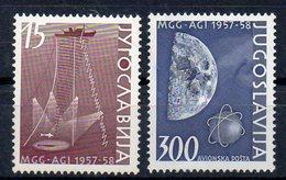 YOUGOSLAVIE    Timbres Neufs **  De 1958   ( Ref 6289 ) Science - Année Géodésique - Unused Stamps
