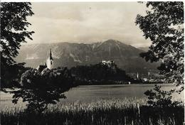 Yougoslavie BLED 2 TIMBRES VERS 1959 - Yougoslavie